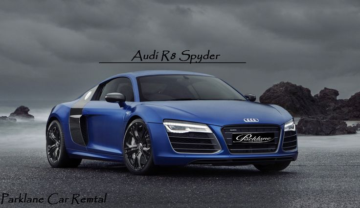 Sport with Luxury - #AudiR8Spyder   Rent #Audi #R8 #Spyder from #ParklaneCarRental  Visit www.parklanecarrental.com