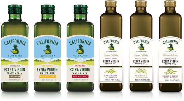 We invite you to enjoy our full range of the freshest, best tasting extra virgin olive oils. We cold press our award winning 100% California grown olives within hours of picking for a fresher taste. Our distinct dark colored protective packaging keeps our sustainably grown premium extra virgin olive oil fresh longer.