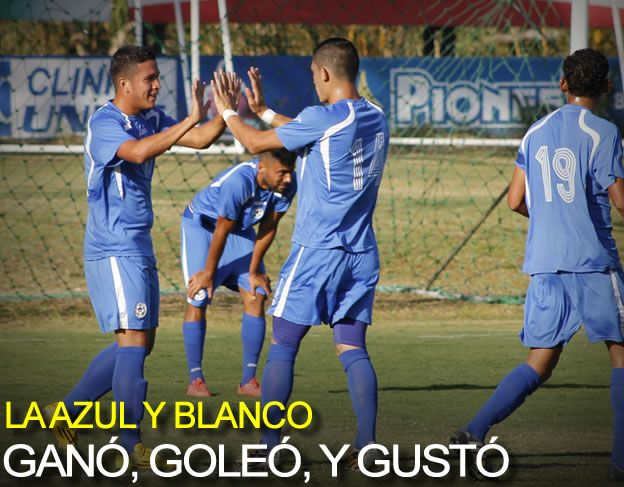 La Azul Y Blanco Gan�, Gole� Y Gust�