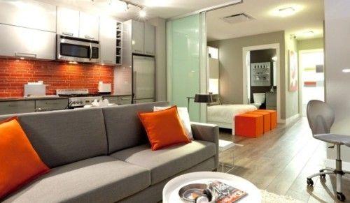 Modern Minimalist Living Room 17
