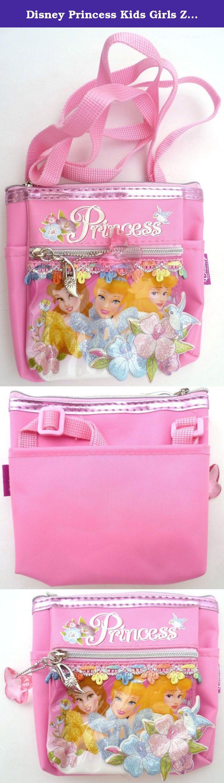 Disney Princess Kids Girls Zipper Coin Purse Neck Pouch Bag Wallet Travel Christmas. Great for Travel , School , Office etc.