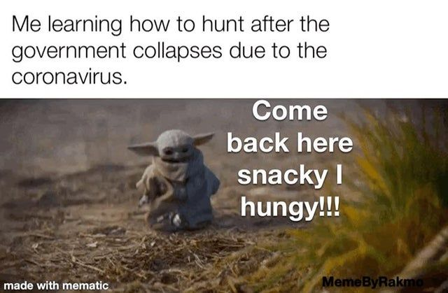 I M Going To Have To Eat Frogs Soon I Guess Is This How To Hunt Babyyoda Yoda Meme Yoda Funny Yoda Quotes