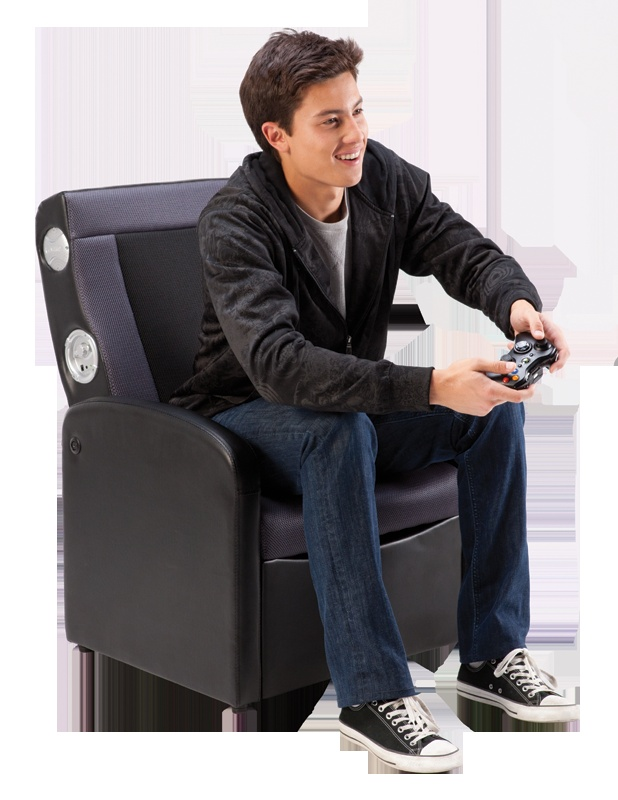 Ottoman Gaming Chair . Multimedia gaming storage flip-up ottoman/chair,  superior comfort - 19 Best New Gaming Gear Products Images On Pinterest