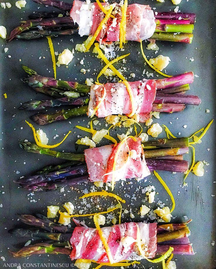 Asparagus, pancetta & parmigiano <3