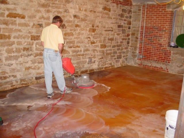 17 best images about flooring on pinterest stains epoxy for How to clean cement floors for staining