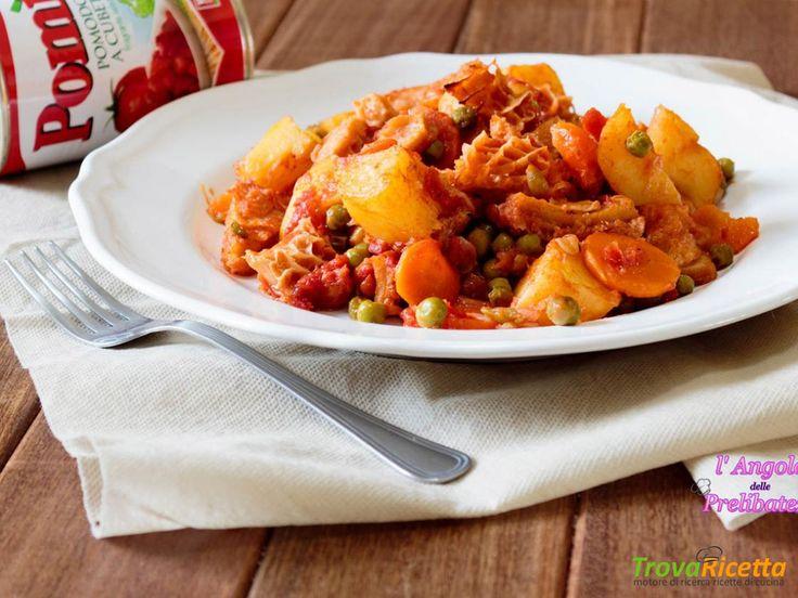 Trippa al forno alla siciliana, ricetta tipica catanese  #ricette #food #recipes
