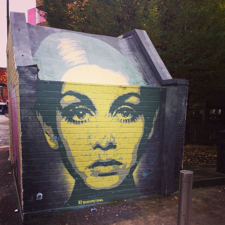 street art in manchester, england. #twiggy