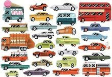 Autokamer Muurstickers voor Jongens, 27 Stoere Autos voor op de muur ...