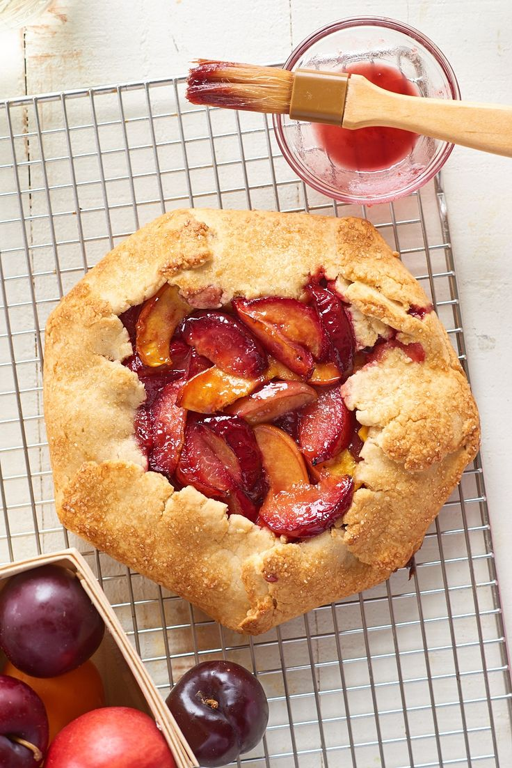 How To Make Any Fruit Galette — Baking Lessons from The Kitchn #recipes #food #kitchen