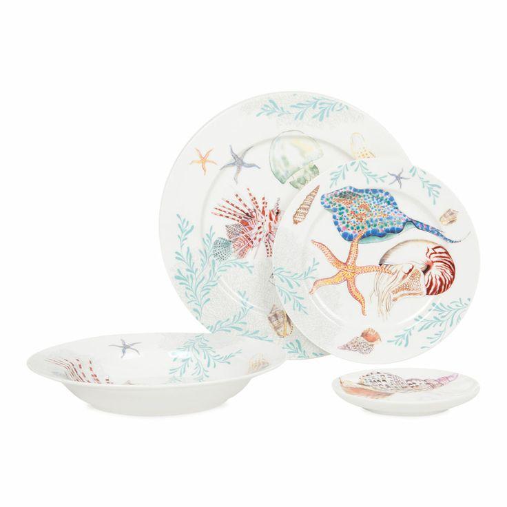 Handmade Ceramic Platter In Coastal Kitchen: 51 Best Coastal Dinnerware Images On Pinterest
