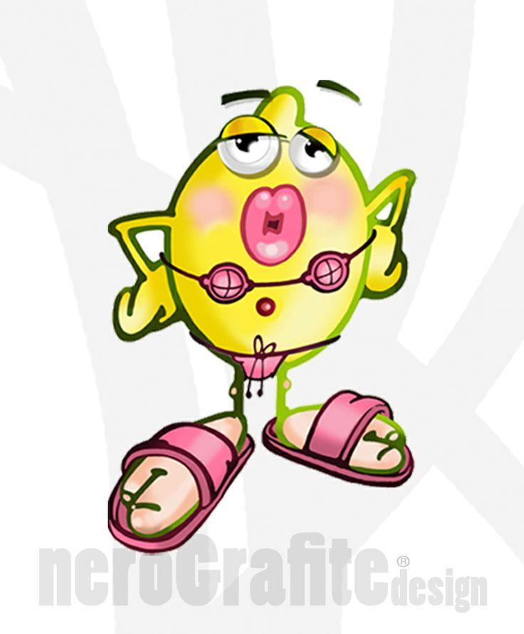 #character #free #nerografite #Design  #Mascotte : Nuovissima Creazione #limonik