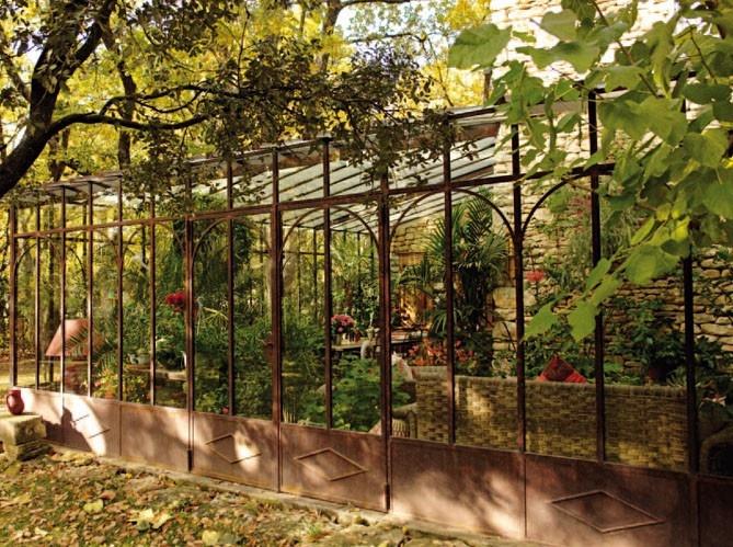 les 25 meilleures id es de la cat gorie jardin d 39 hiver sur pinterest serre d 39 hiver solariums. Black Bedroom Furniture Sets. Home Design Ideas