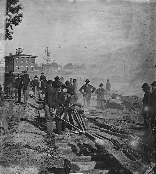 November 15, 1864 CE – Union General William Tecumseh Sherman Begins His March to the Sea by Burning Atlanta