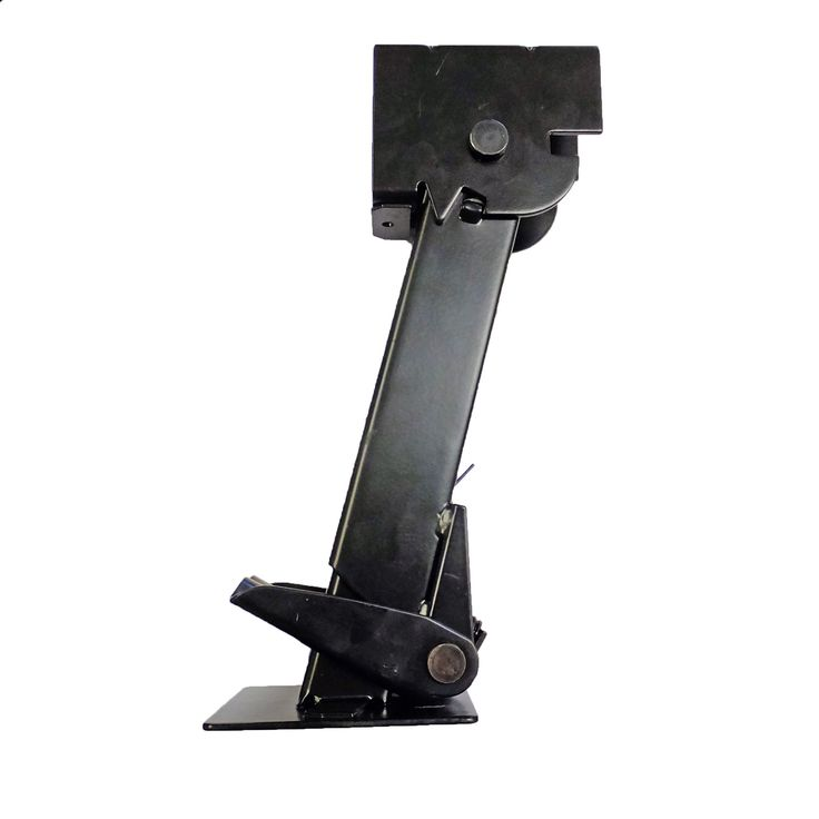 "Part #: OTP-TSJ Description: 1 (One) Folding and retractable 650 lb. trailer stabilizer jack. - Specs: - Retracted Length (collapsed): 11-1/2"" - Extended Length: 17-3/4"" - Drop Leg Travel: 6-1/4"" - Mo"