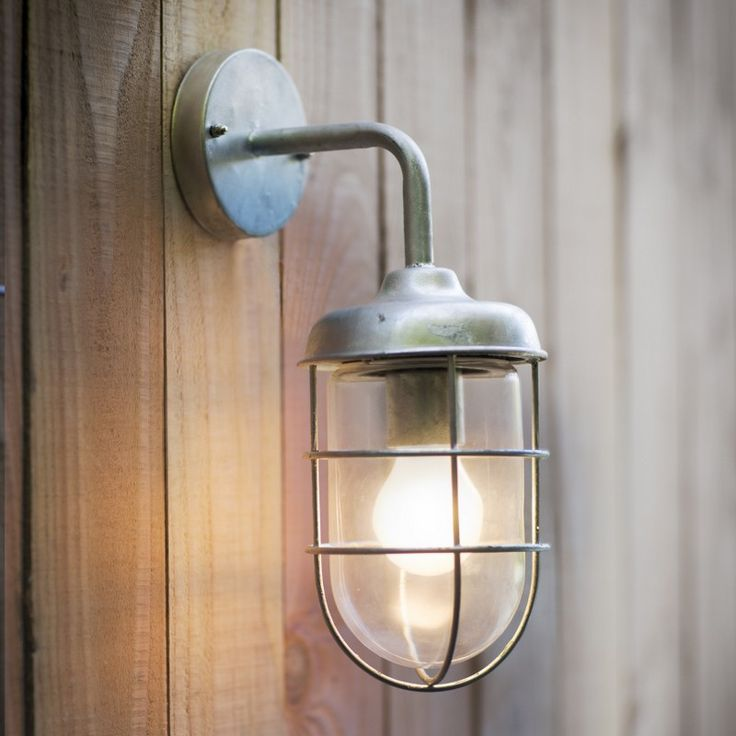 The st ives galvanised harbour light is an outdoor durable and stylish light all our galvanised lights are hot dipped and suitable for coastal locations