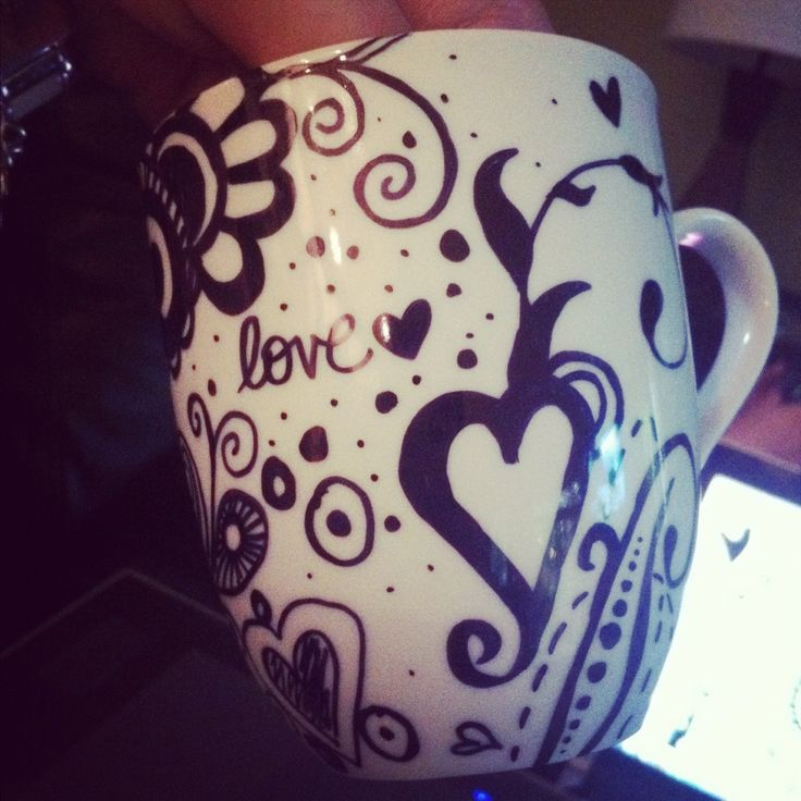 61 Best Images About Sharpie Mug Ideas On Pinterest Mug