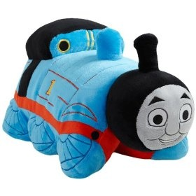 My Pillow Pets Thomas The Tank Engine - Blue/Red (Licensed)  Order at http://amzn.com/dp/B005LQVZZW/?tag=trendjogja-20