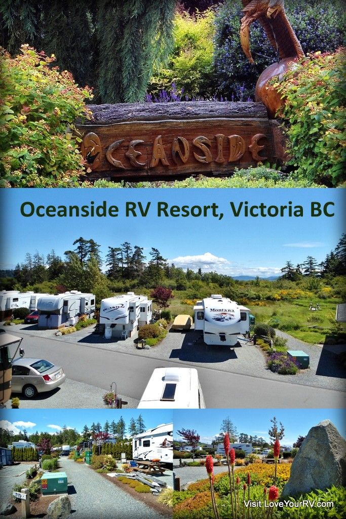 Review Of The Oceanside Rv Resort Near Victoria Bc With Images Best Rv Parks Rv Parks And Campgrounds Resort