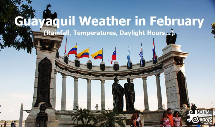 Weather on Ecuador's Pacific Coast in February (Guayaquil)