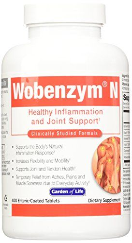Garden of Life Wobenzym N - 400 Tablet >>> Want to know more, visit http://www.amazon.com/gp/product/B0013CI02O/?tag=homeimprtip08-20&phi=010816012548