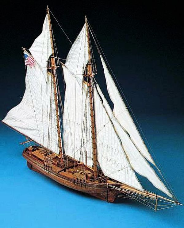 Corel Flying Fish Schooner 1:50 Scale Model Boat Kit - available from Hobbies, the UK's ...