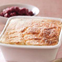 Lemon sago pudding