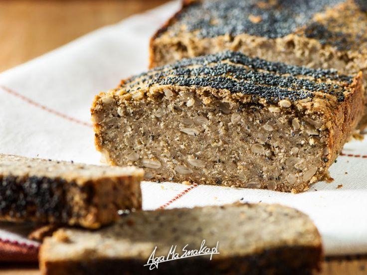 Chlebek jaglano-gryczany, bezglutenowy i wegański cały! Aromaty śródziemnomorskie! ⋆ AgaMaSmaka - żyj i jedz zdrowo!