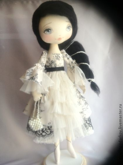 Collectible handmade dolls.  Fair Masters - handmade doll Mirabella.  Handmade.