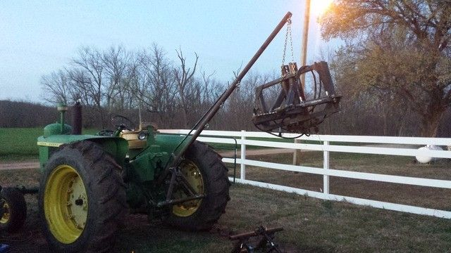 Homemade Forklift Boom : Best images about old farm tractors and info on