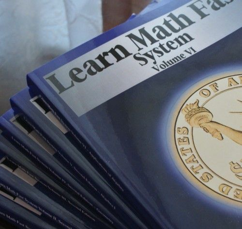 Learn Math Fast review and how it works for a homeschooling family with multiple ages.