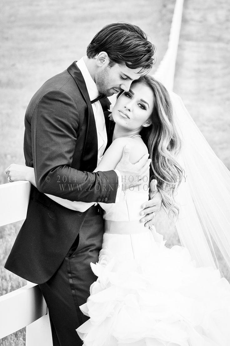 Bride Jessie James | Sara Gabriel Veil + Vera Wang gown