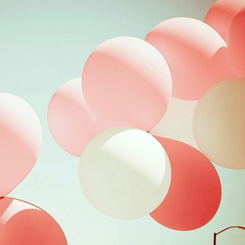 balloons: Colour, Pink Balloons, Pastel, Inspiration, White Balloons, Wedding, Colors, Photo