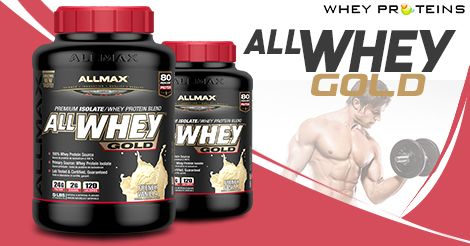 Allmax Nutrition All Whey Gold is one of the Best Muscle Gainer Supplement.