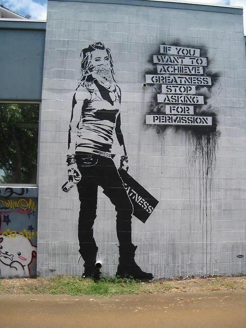 Banksy #streetart #urbanart!