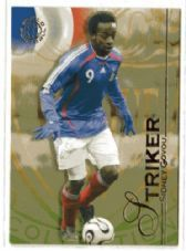 FRANCE & LYON - Sidney Govou #115 FUTERA 2008 World Football Trading Card