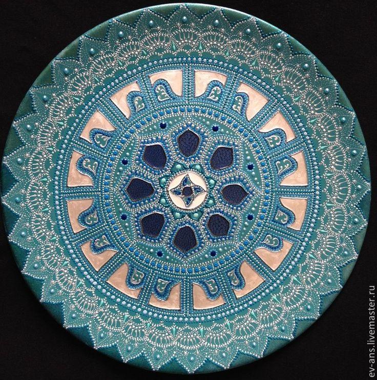 Евгения Ансари (Ev-Ans) Тарелка декоративная Through the skies