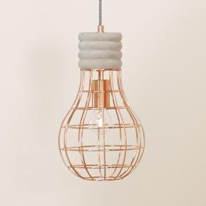 Lovely Mit dieser Lampe aus Drahtgeflecht beweist Du dass auch von der