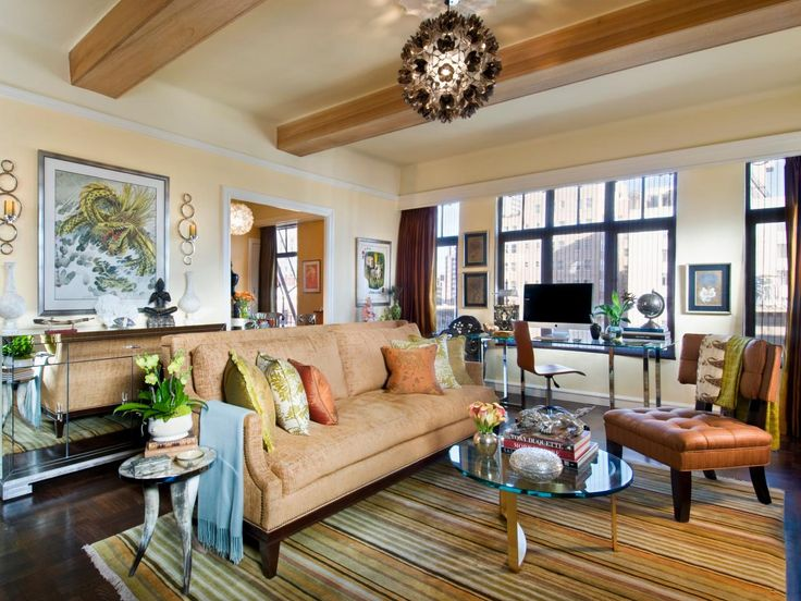 Eclectic Living Room By Crystal Waye Photo Design