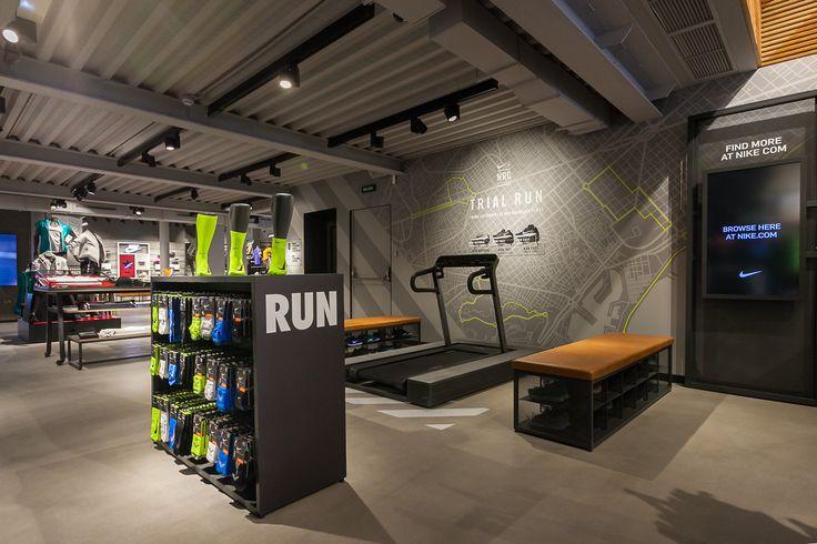 citymap Barcelona Nike store