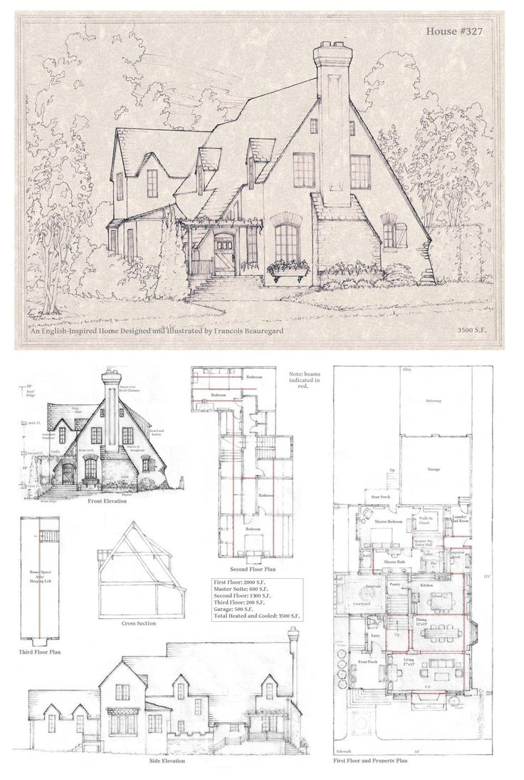 House 327 A By Would Love To Hire This Guy To Design My Home. His Sketches  Are So Detailed, Full Of Character And Whimsy, Absolutely Perfect!