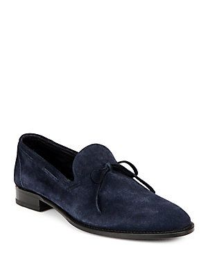 ISAIA Suede Loafers