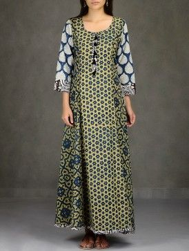Just gorgeous, a mix of ajrakh cotton prints - almost mediaeval