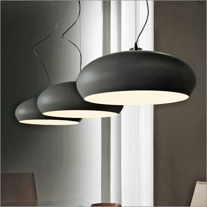 cattelan italia hublot suspension light, white or graphite £552 for 60cm