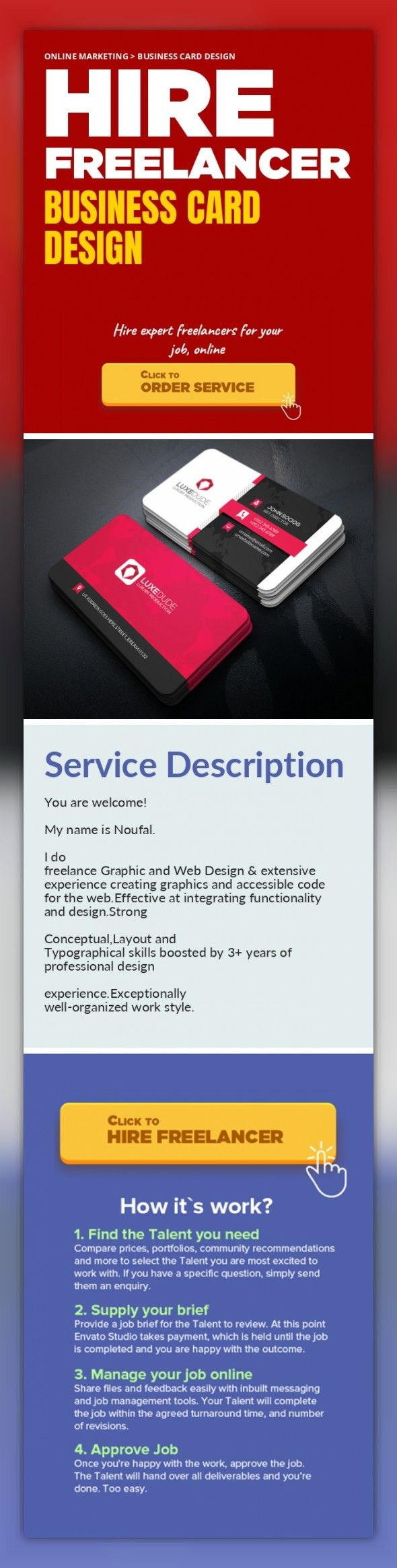 Business Card Design Online Marketing, Business Card Design   You are welcome!    My name is Noufal.    I do freelance Graphic and Web Design & extensive experience creating graphics and accessible code for the web.Effective at integrating functionality and design.Strong     Conceptual,Layout and Typographical skills boosted by 3+ years of professional design     experience.Exceptionally well-...