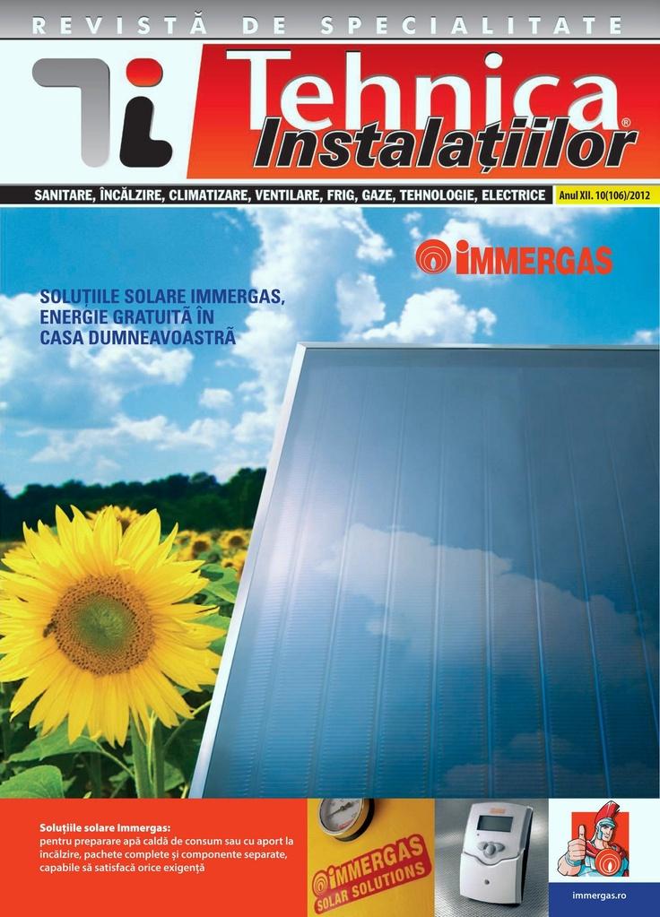 Revista Tehnica Instalatiilor nr. 10_106_2012
