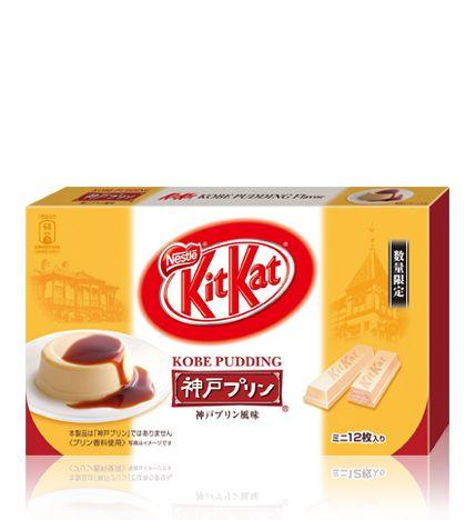 ネスレ キットカット ミニ 神戸プリン風味 12枚