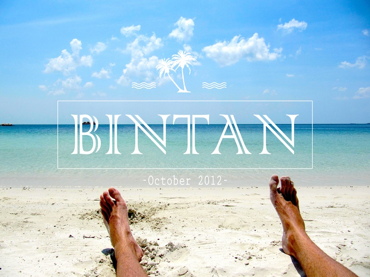 My holidays in Bintan!