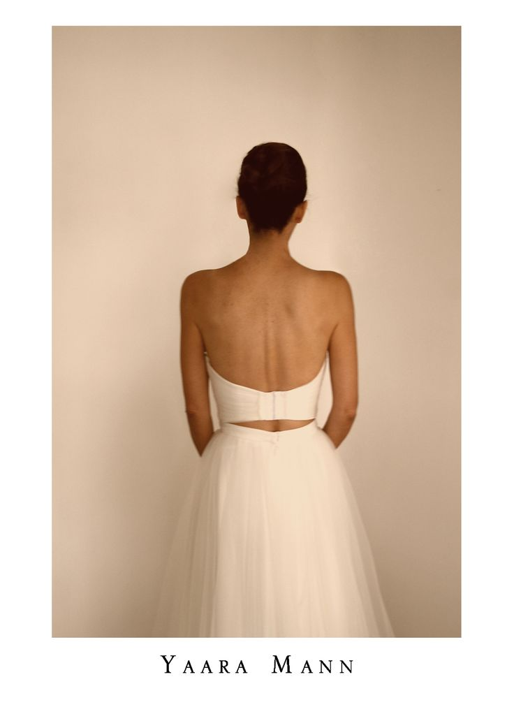 """Charlotte"" wedding dress from Yaara Mann's collection 2014 www.yaaramann.com"