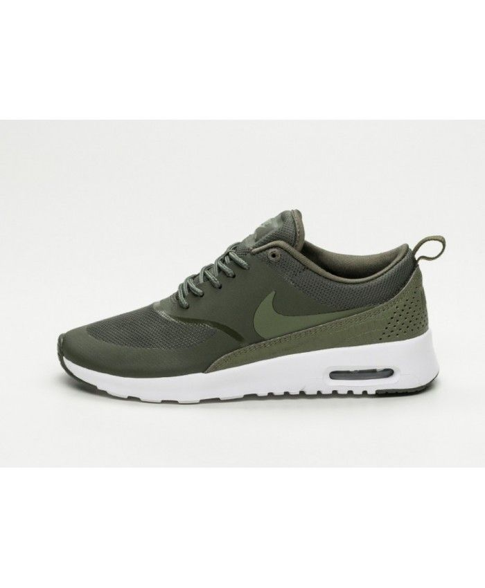 nike air max thea mens khaki white