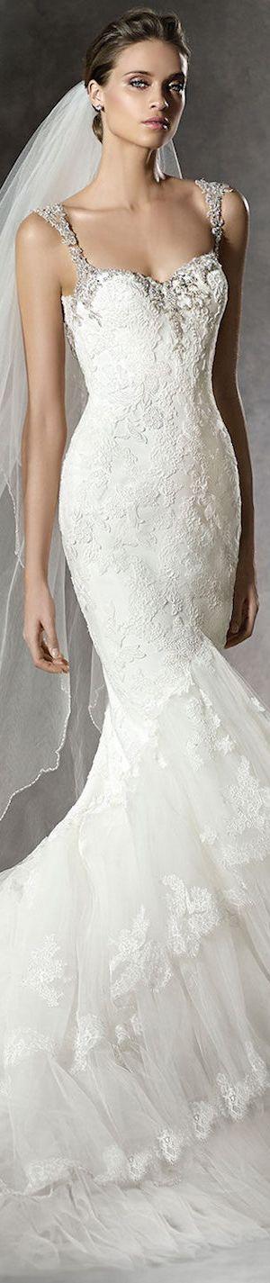PRONOVIAS BRIDAL GOWNS 2016 PRUSIA WEDDING GOWN